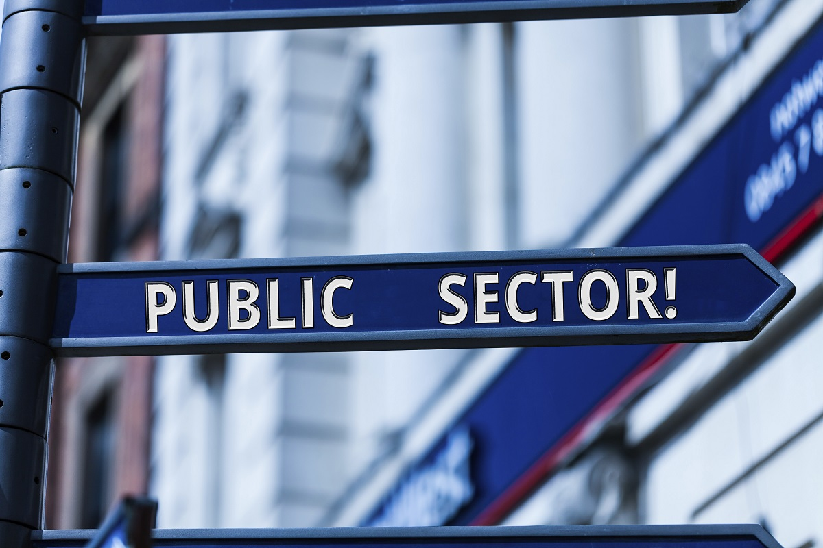 Public sector sign