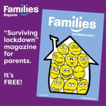 Families Magazine Infographic about digital edition